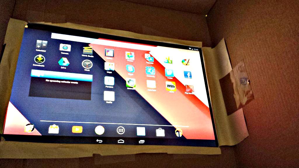 Picture of DIY Tablet Theater