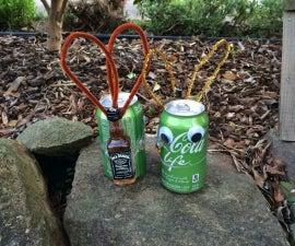 Beer Bunny or Pop Can Easter Egg Hunt