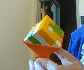 3D Printed Puzzle Cube