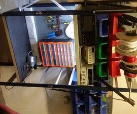 Metal Shelf Workstation