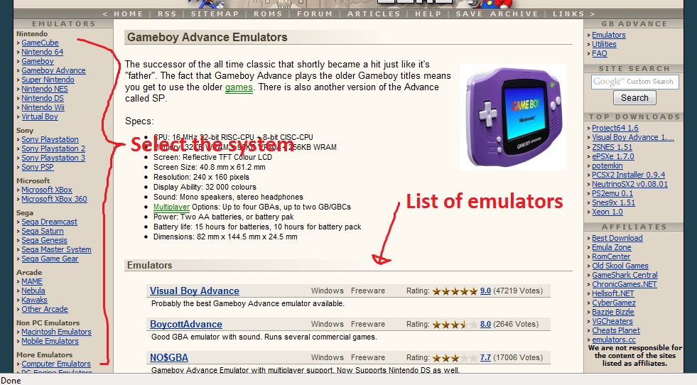 How To Run A Game Emulator 7 Steps Instructables