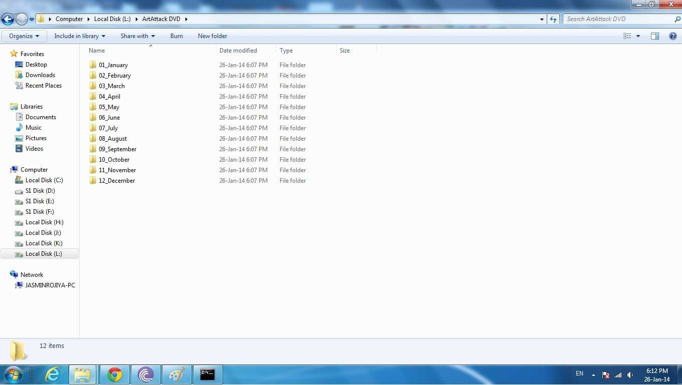 Picture of Finally the Folders Are Created