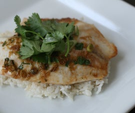 Oven Roasted Asian Tilapia