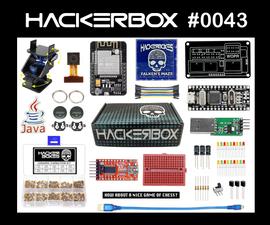 HackerBox 0043: Falken's Maze
