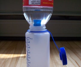 Cheap and Easy Gravity Water Filter
