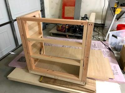 Prepare and Assemble Bottom/seat Panel