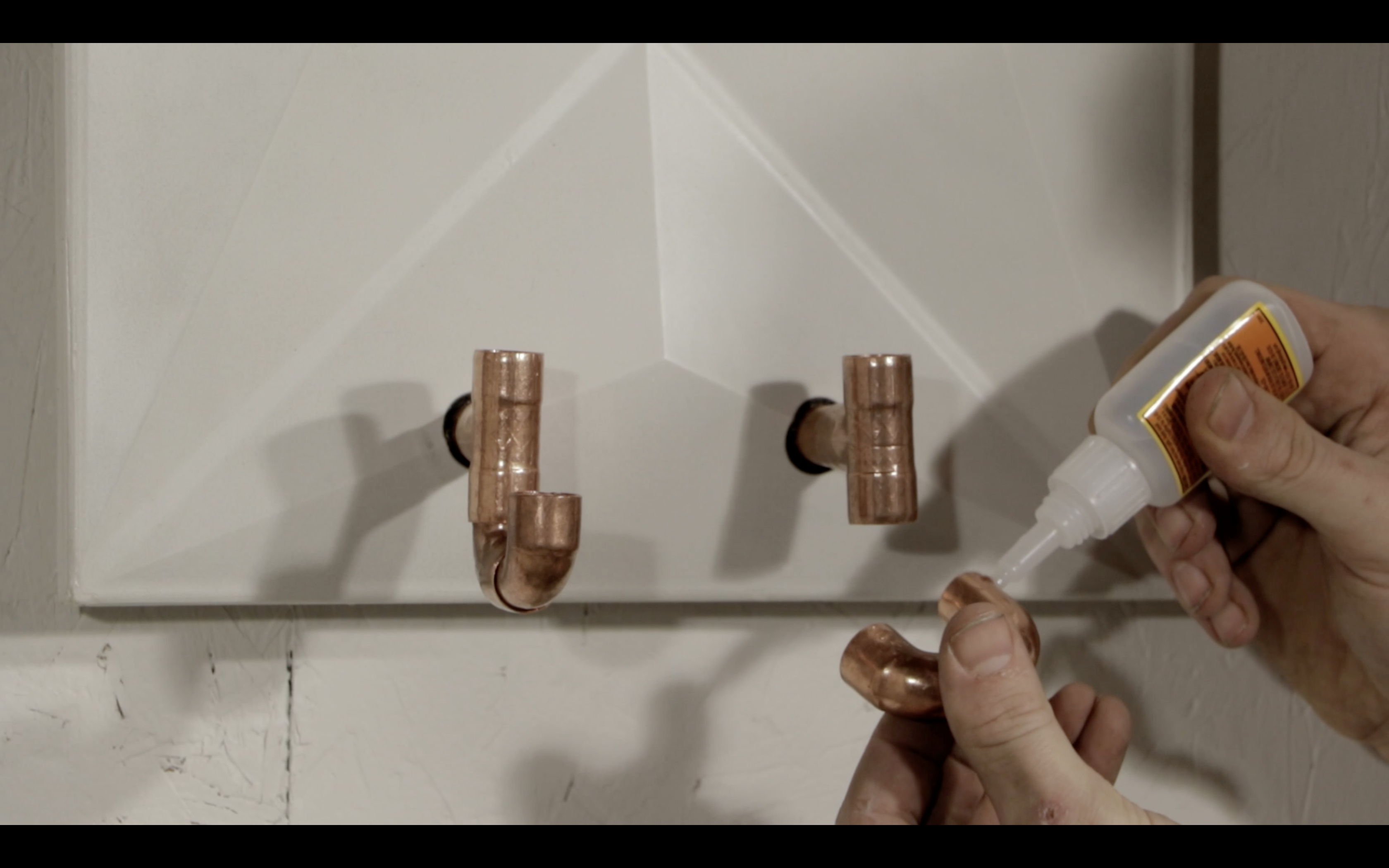 Picture of Hang the Coat Rack and Create Your Copper Pipe Hooks