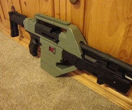 Nerf M41A Pulse Rifle (based off the the movie Aliens)