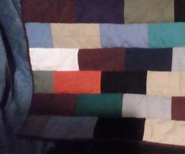 World's Easiest Beginner Quilt (Brick Wall Quilt)