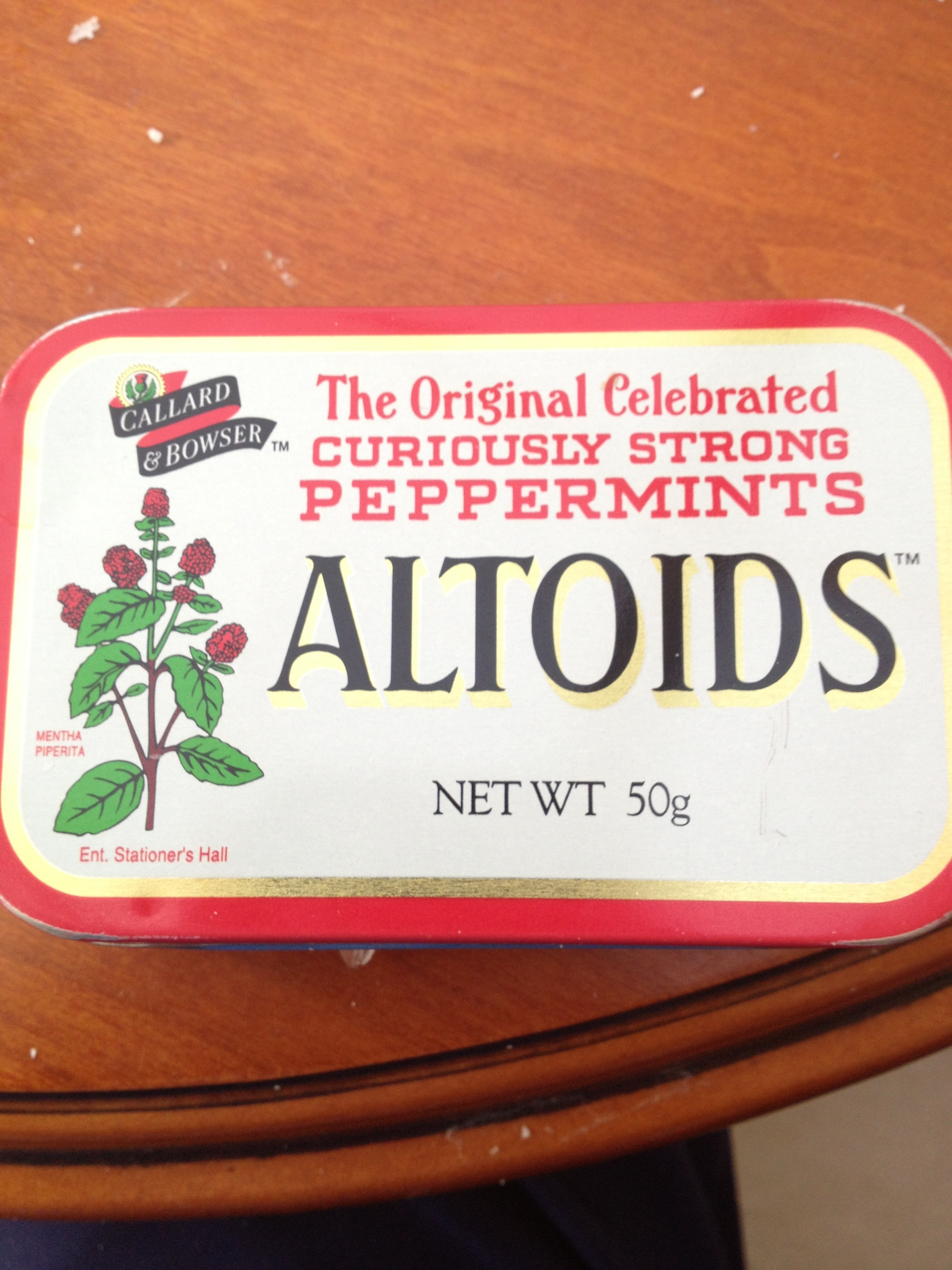 Picture of Altoids Tin Candle