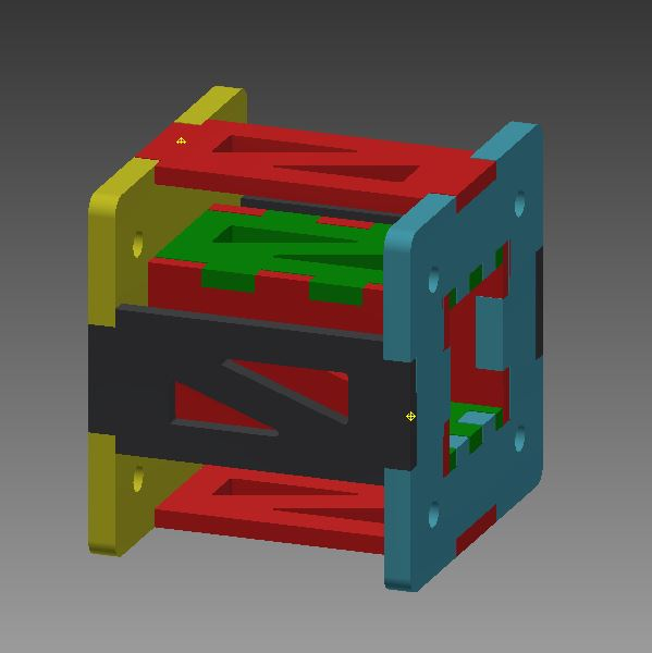 Picture of Your Finished With the CAD and Cut Out the Parts