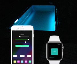 Control Arduino RGB LEDs by IPhone Using WiFi
