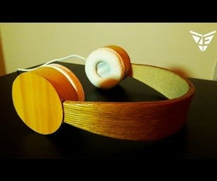 WOODEN HEADPHONES DIY