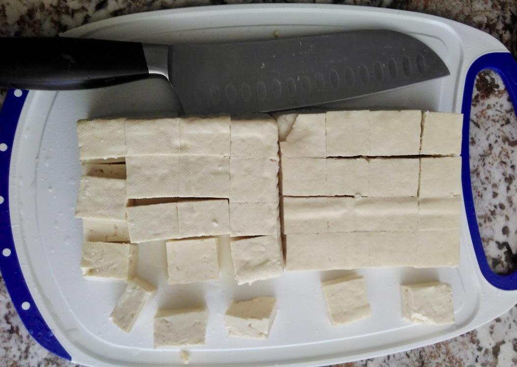 Picture of Preparing the Tofu