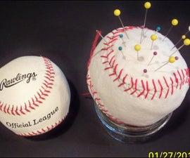 How To Make A Baseball Pincushion