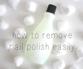 how to remove nail polish easily