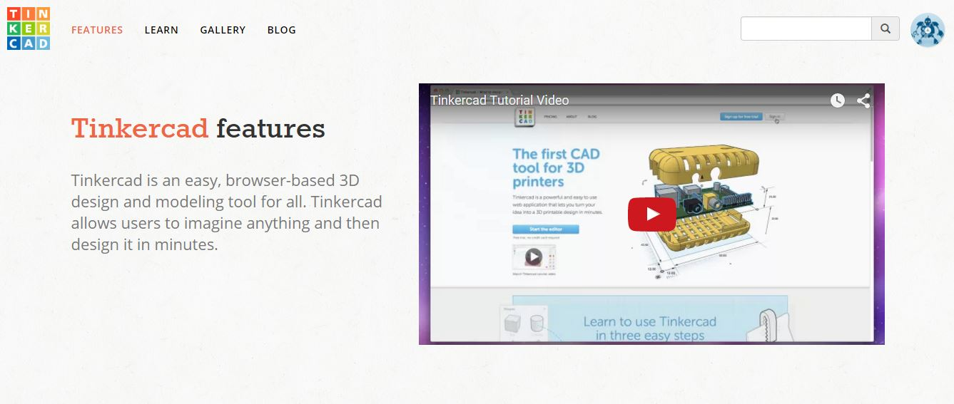 Picture of Making Your Own 3D Figure W/ Limited CAD Experience/software Step 1: TinkerCAD