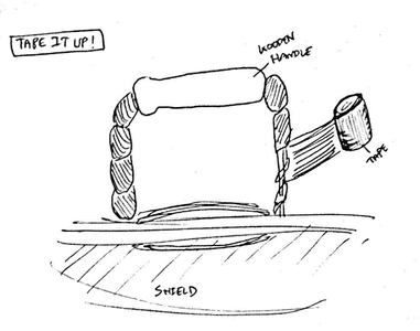Making the Handle.