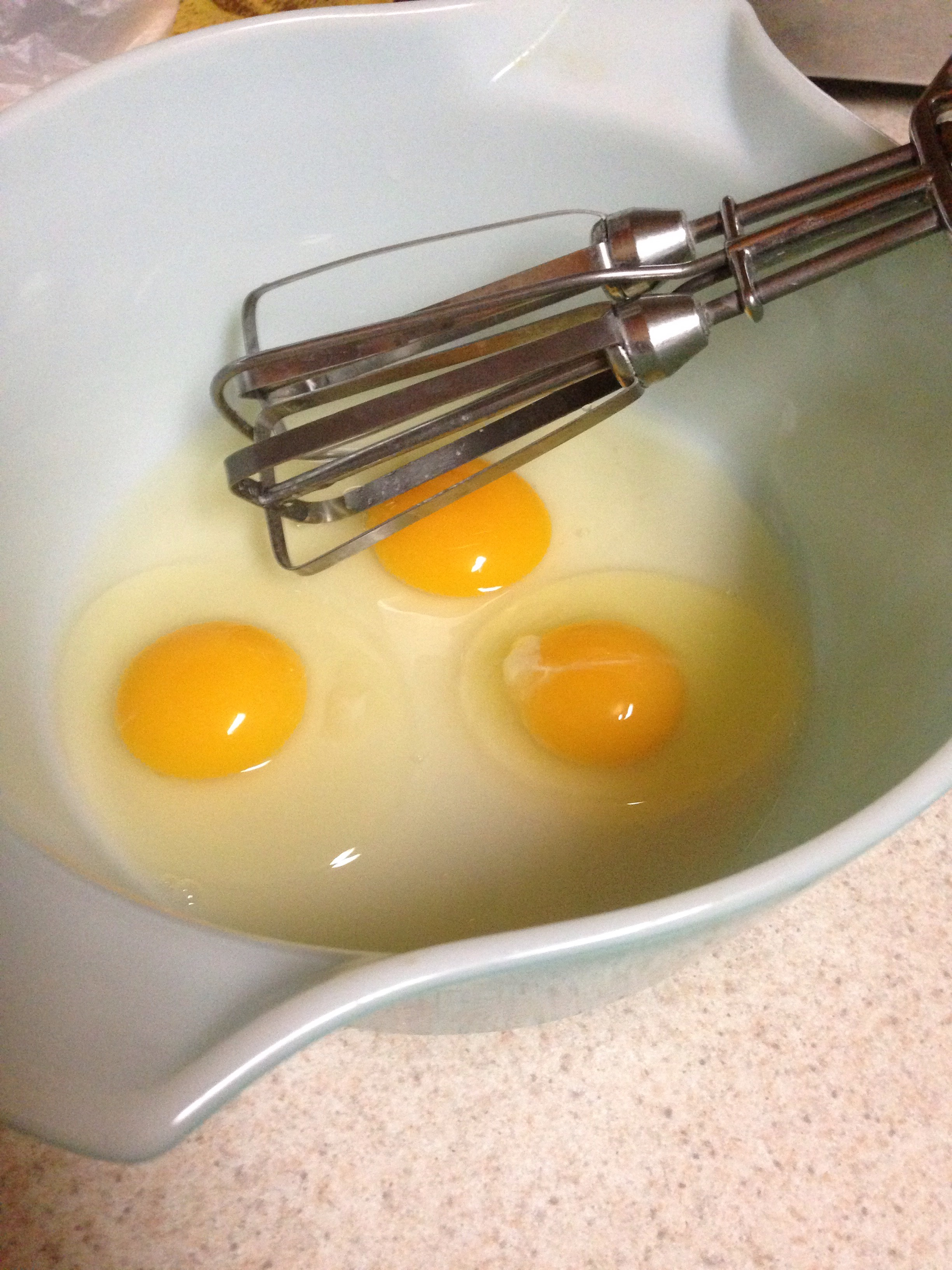 Picture of Preparing the Egg Mixture