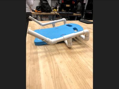 Step 3.4.4: Attaching the Kickboard