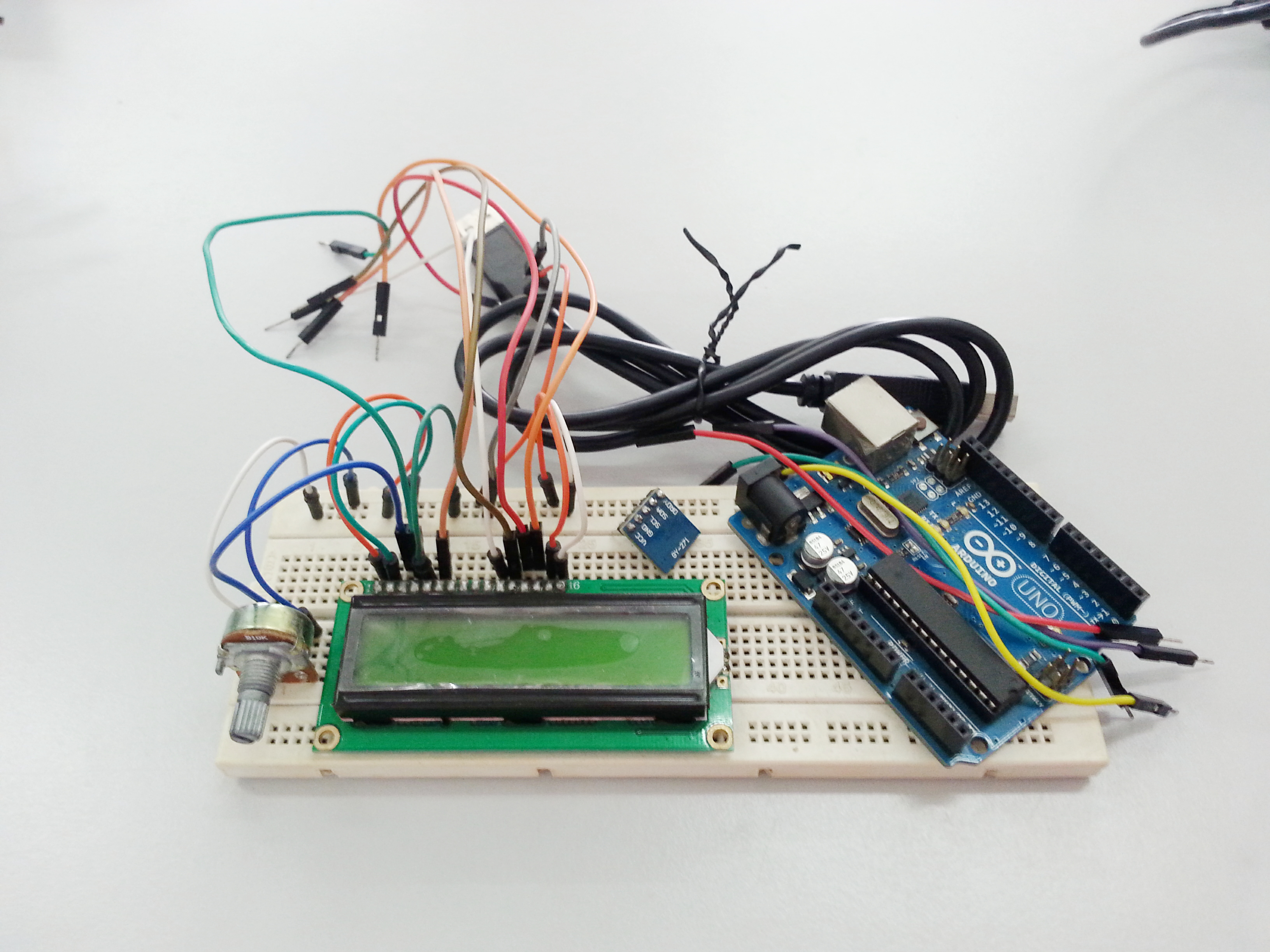 Picture of Result : Serial Monitor