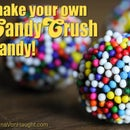 Make your own Candy Crush candy color bombs