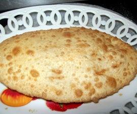 Make Bhature in 30 Mins