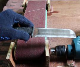 DIY Adjustable Belt Sander