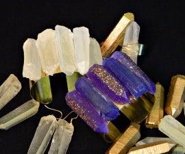 Faux Quartz Crystal Jewelry