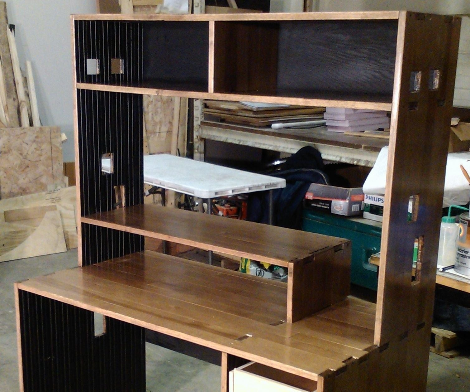 Solid Wood Computer Desk for Only $50 in Material!