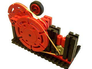 Picture of How to Integrate a Motor Into a Fischertechnik Drive Train