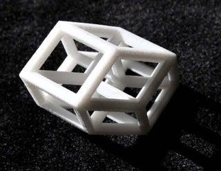 3d 4-Dimensional Tesseract Hypercube Model B TJT4/6