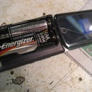 AA Battery Powered Cell Phone