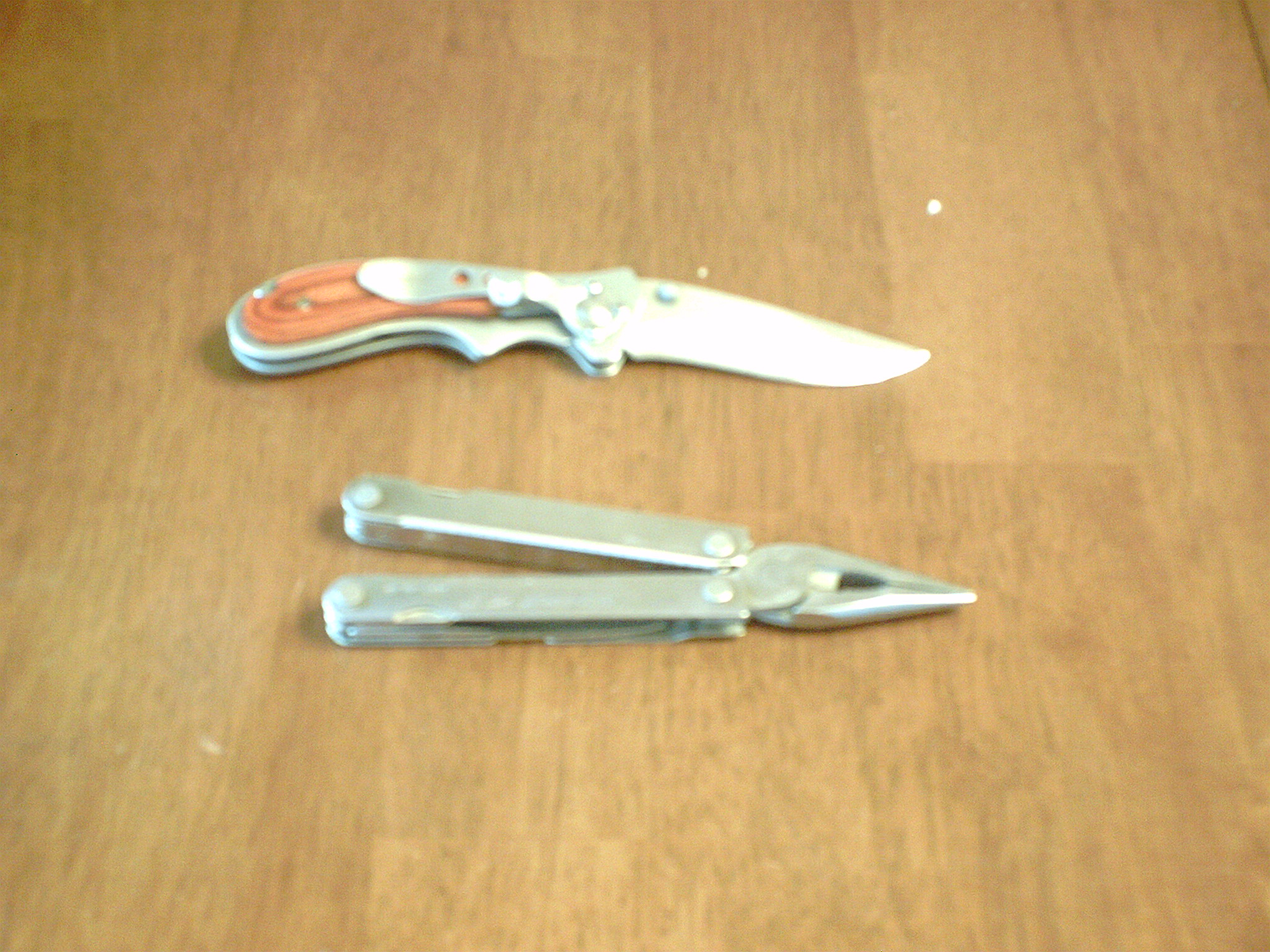 Picture of Choose at Least One Good Knife to Bring