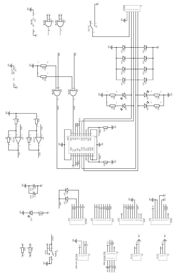 Picture of Schematic Diagram of Adeept Motor Shield