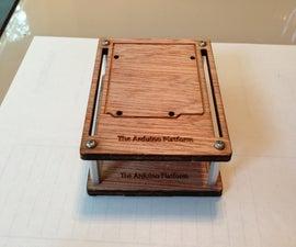 The Arduino Platform - Laser Cut Holder for Arduino & Stuff