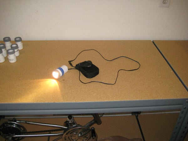Bright Rechargable Headlight for Your Bike!