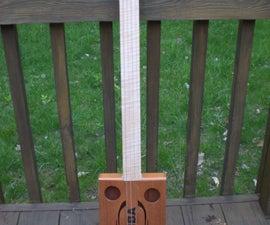 My Home-made Cigar Box Guitar