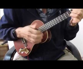 Using a Solenoid for Percussion on a Ukulele