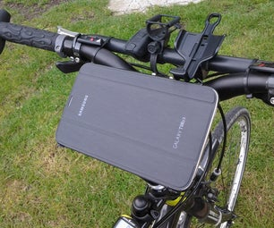 How to Make an Every Day (bike) Carrier Fast, Cheap and Easy for Your Gps, Smartphone, Mp3 Player, Powerpack And/or Other Stuff....