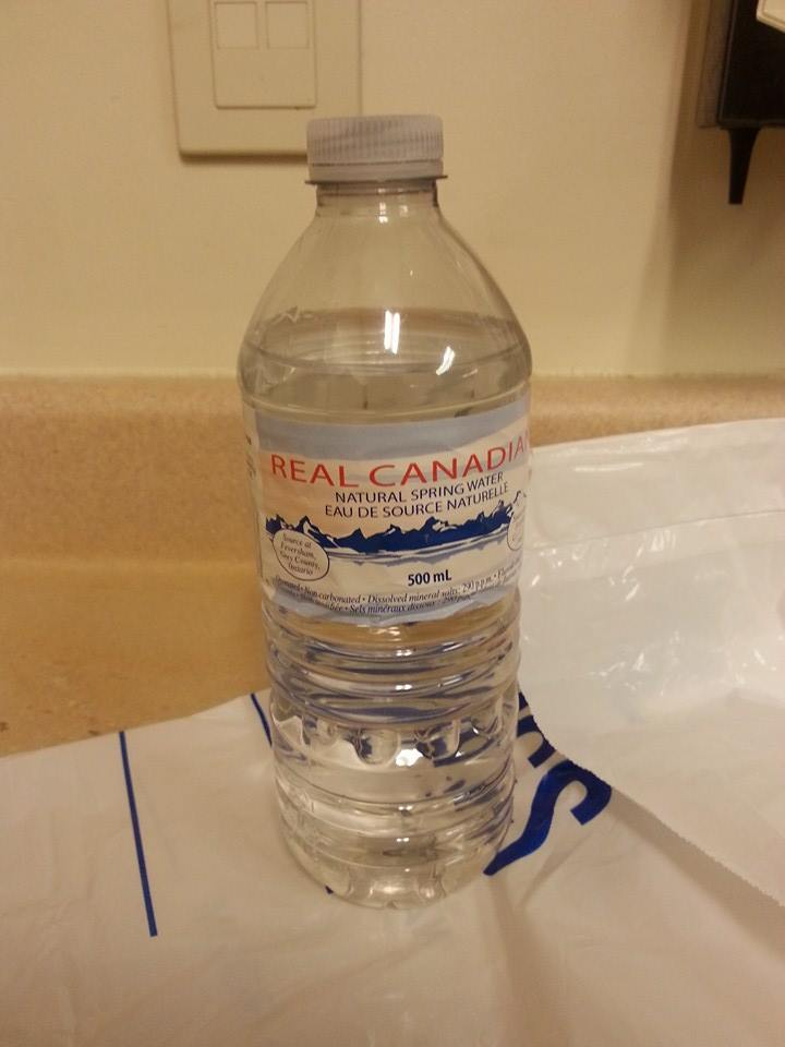 Picture of Preparing the Water Bottle