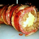 BBQ Bacon Sushi Sliders