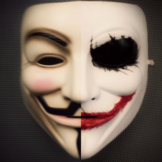 The Vendetta Joker Face Painting Mask Instructables