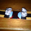 paper finger snowboard