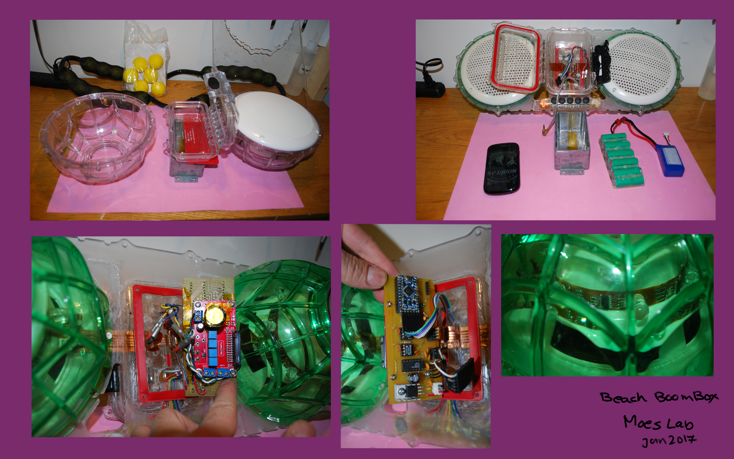 Picture of Preparation of Plastic Body, Components and Parts