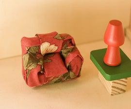 Miniature Armchair From Scrap Material