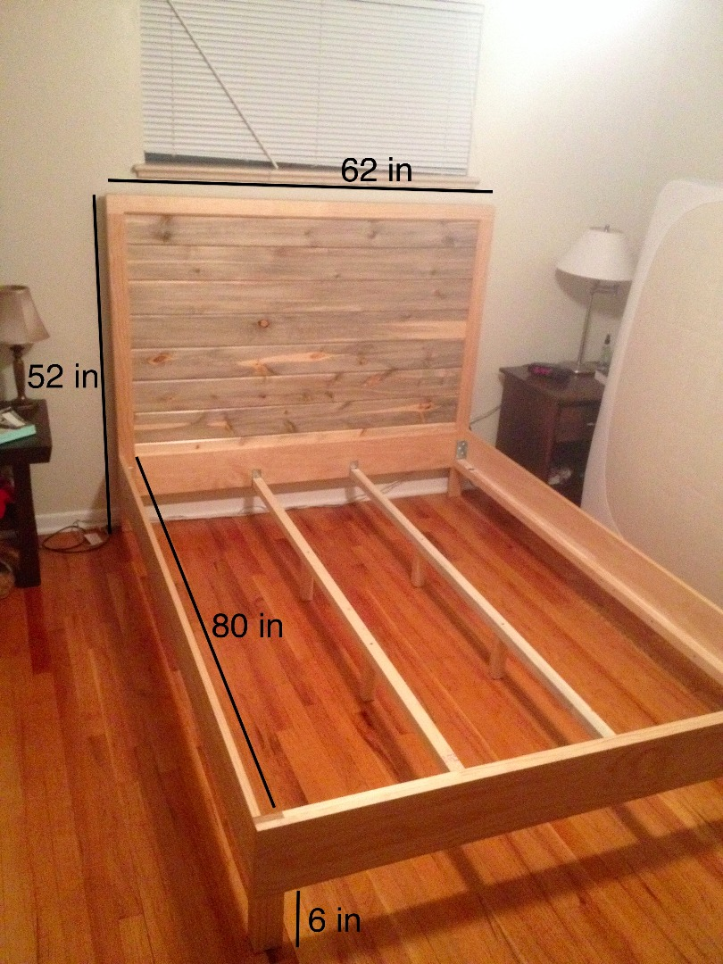 Picture of Beetle Kill Pine Headboard (and Frame)