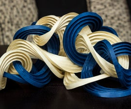 How To: Make Curved-Fold Origami Sculptures