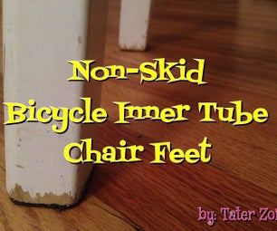 Anti-Skid Chair Feet From Recycled Inner Tube