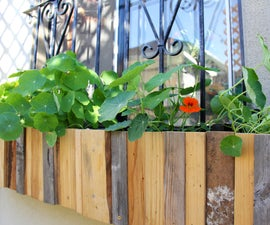 Planter Boxes for Windows With Bars